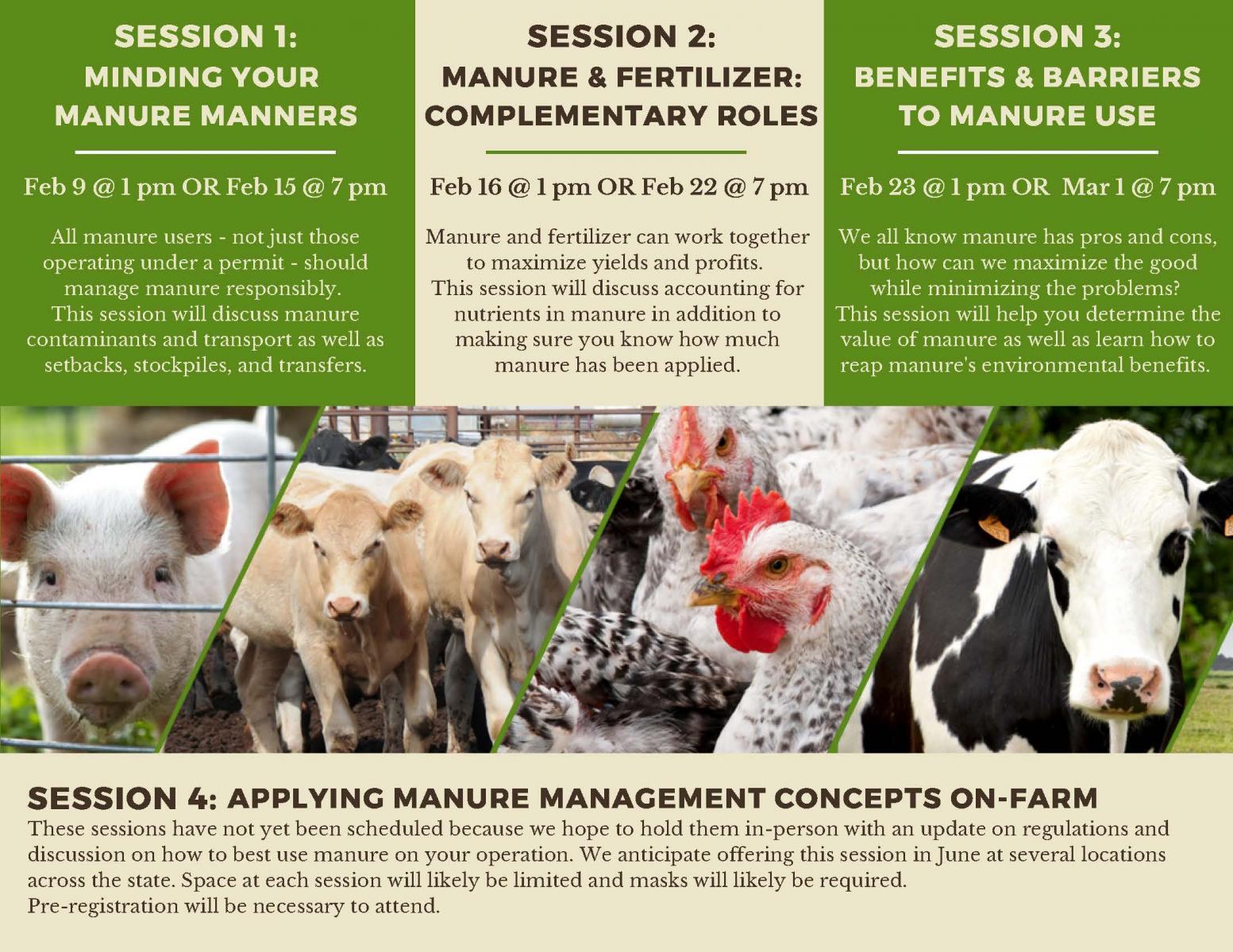session descriptions