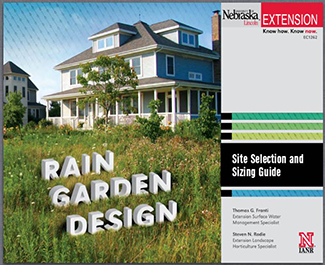photo of rain garden design guide