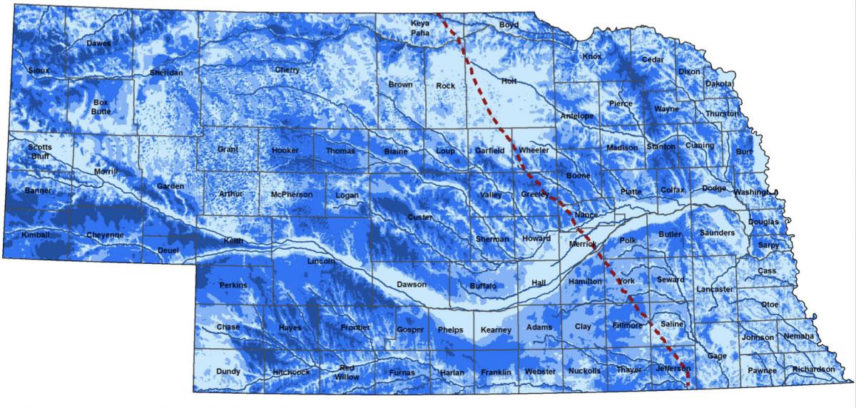 Groundwater Map of Nebraska