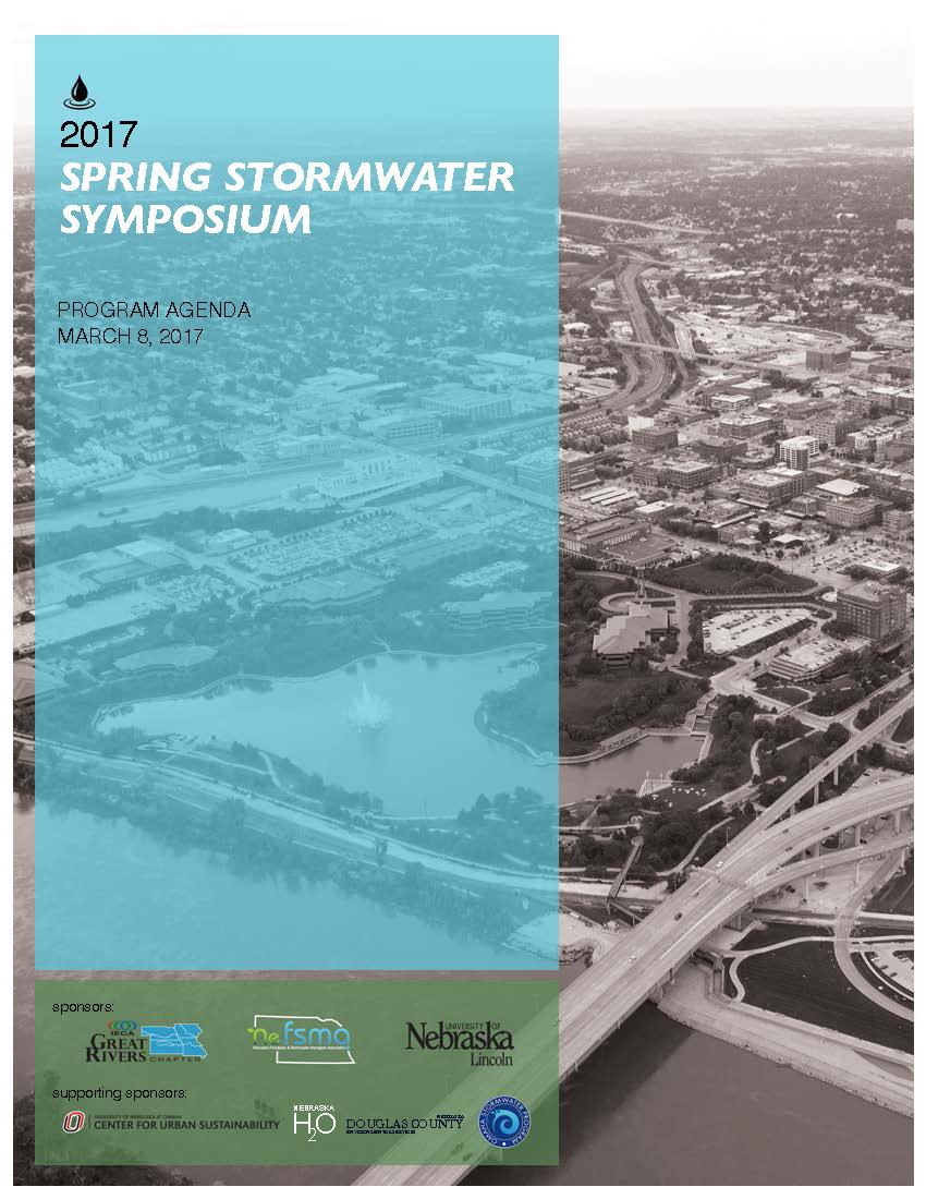 Spring Stormwater Symposium Agenda Cover