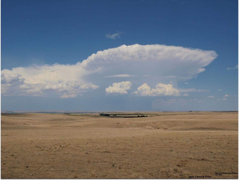 A thunderstorm replenishes the Nebraska Panhandle with water.