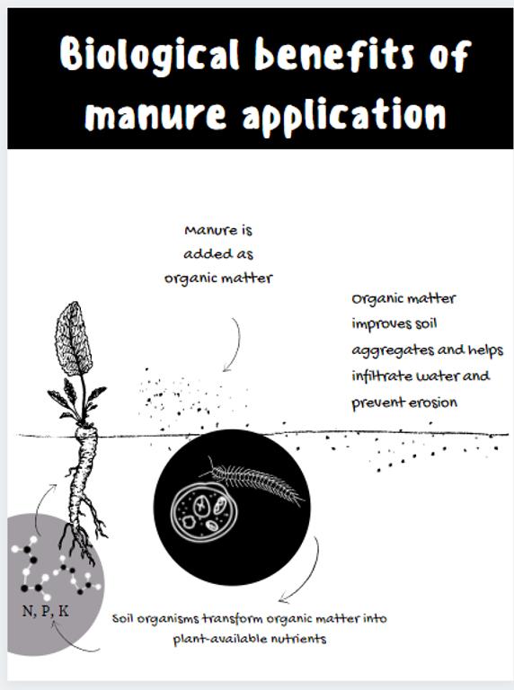 Biological Benefits of Manure Application