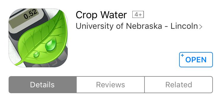 CropWater App
