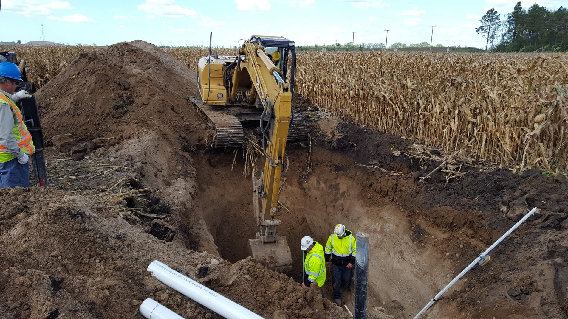 excavation tank