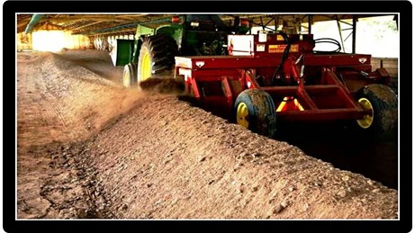 Partially composted broiler litter offers advantages to Nebraska crops.