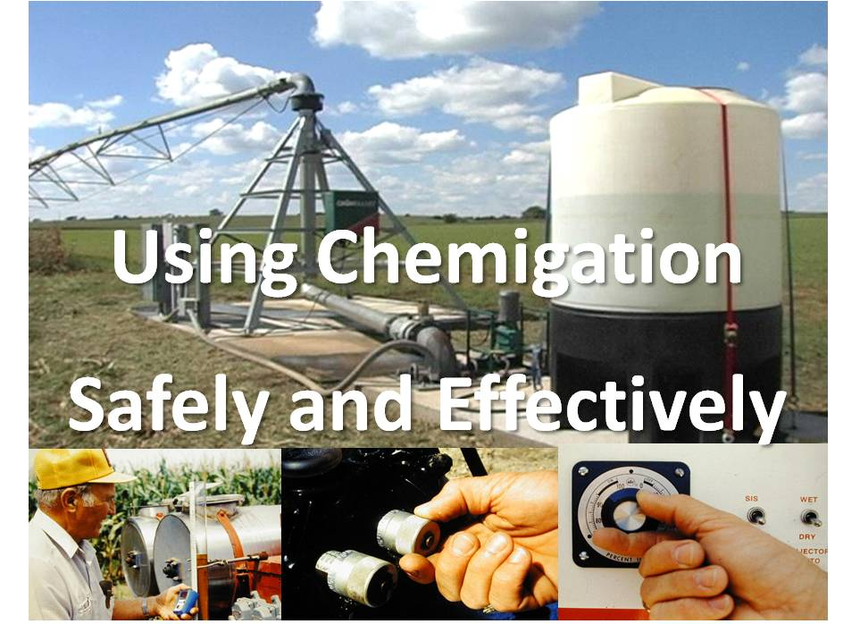 Using Chemigation Safely and Effectively Graphic
