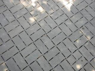 Example of a permeable paver