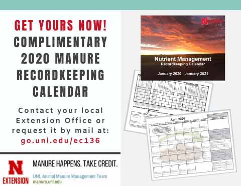 invitation to order your complementary 2020 manure calendar