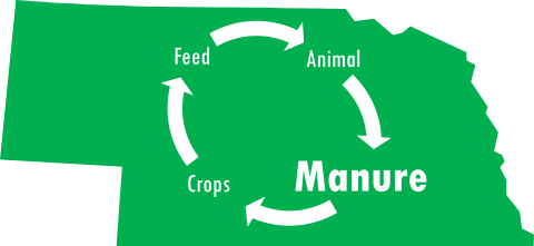 manure focused nutrient cycle on Nebraska
