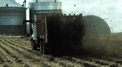 Manure's ability to improve soil properties can reduce erosion and runoff.